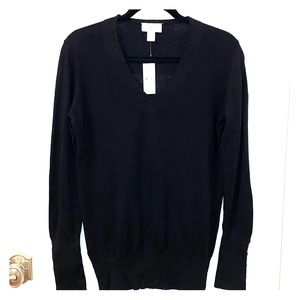 Ann Taylor Loft Black Sweater